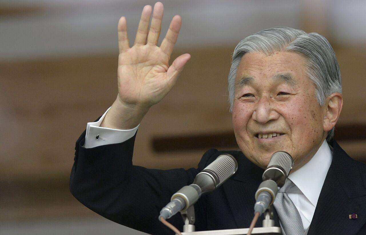 Японский император отречется отпрестола вначале рабочей недели