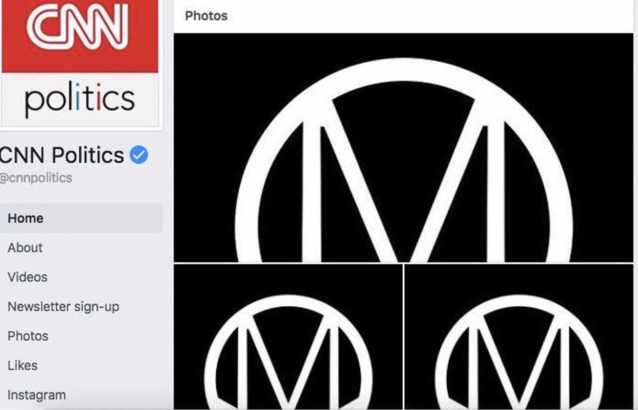 В США хакеры взломали аккаунты CNN в Facebook и оставили сообщение