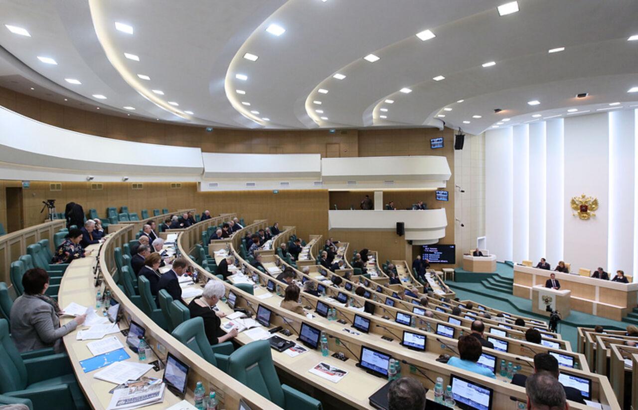 Совет Федерации перенес рассмотрение закона ореестре коррупционеров
