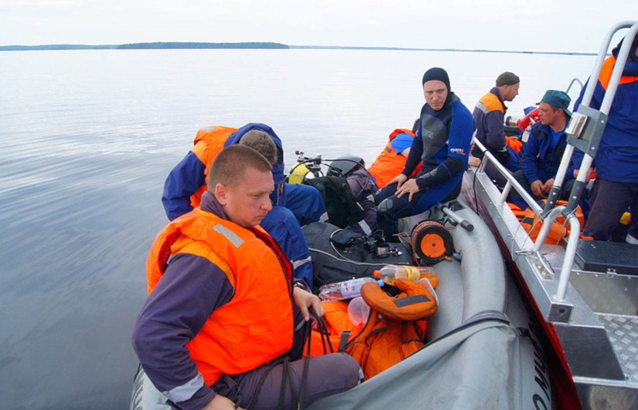 Лодка спятью детьми перевернулась вКарелии