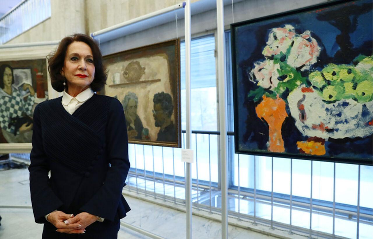 Волгоградский музей ИЗО получил в презент отиспанской баронессы 21 шедевр живописи