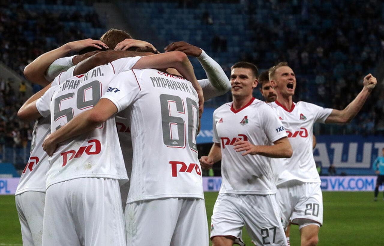 «Локомотив» и«Зенит» завоевали путевку вплей-офф футбольной Лиги Европы