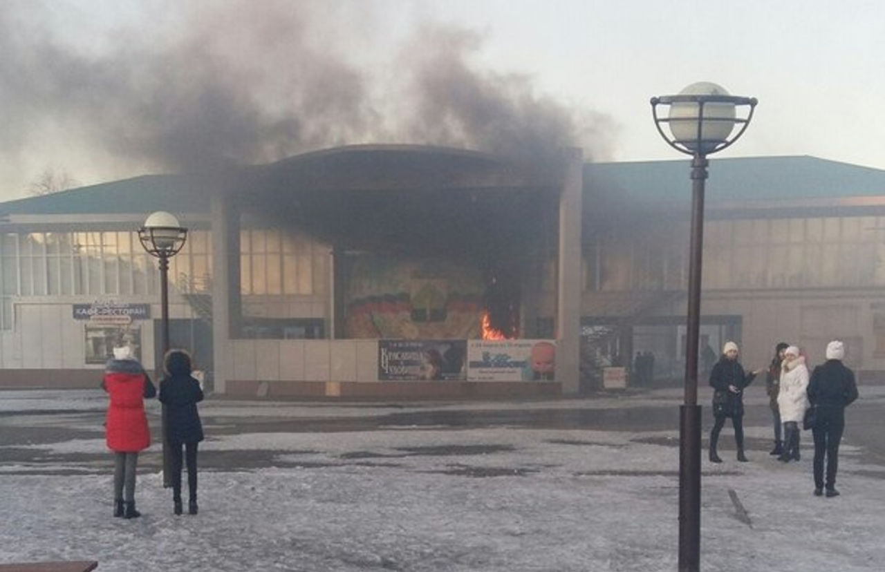 Насцене центра творчества вБерёзовском произошёл пожар