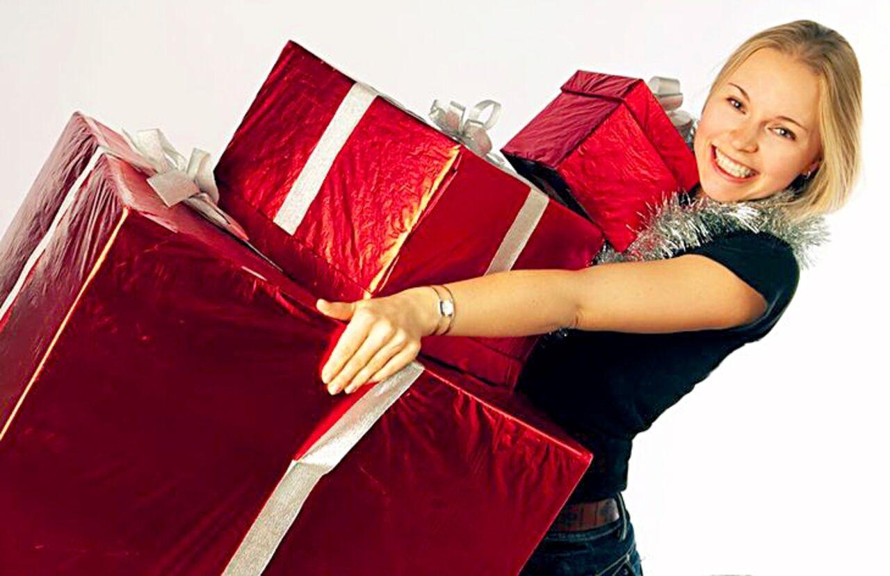 Подарок большое
