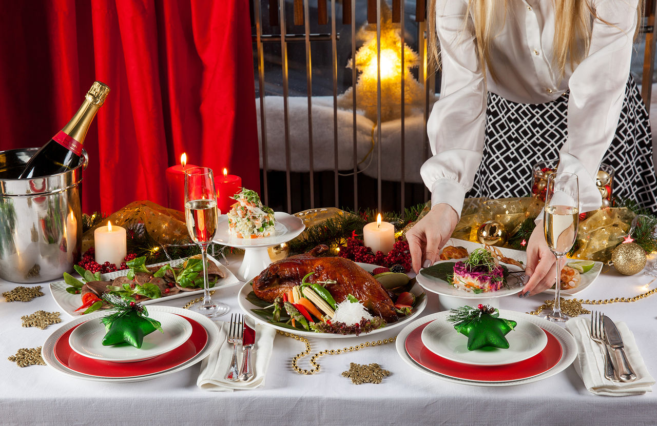 Новогодний стол вЧелябинской области обойдется в5832 рубля