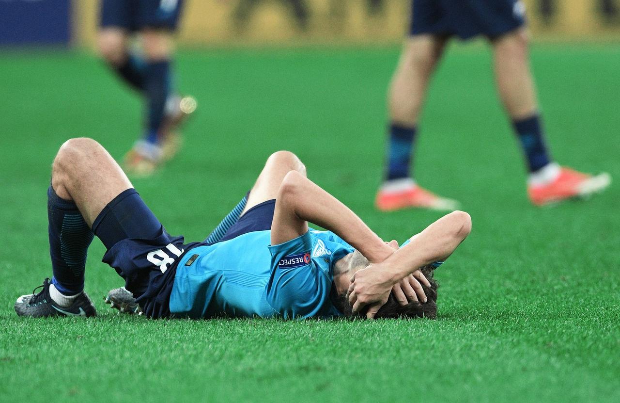 ФК «Зенит» сыграл вничью сбратиславским «Слованом» вконтрольном матче