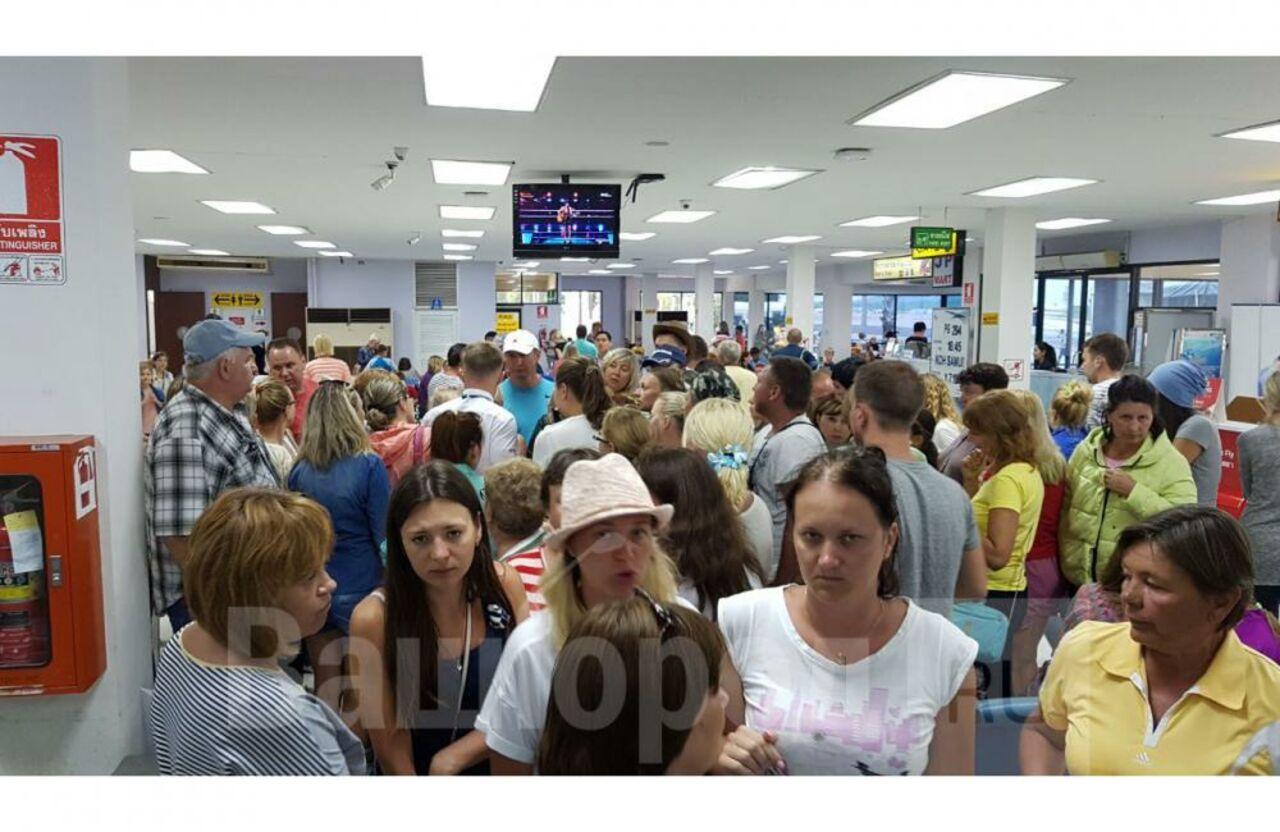 Кузбасские туристы больше суток немогут вылететь изТаиланда