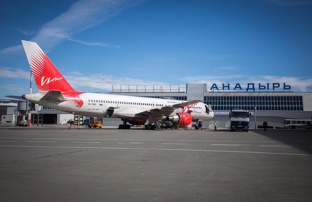 Неменее 400 пассажиров немогут вылететь сЧукотки из-за задержки самолётов