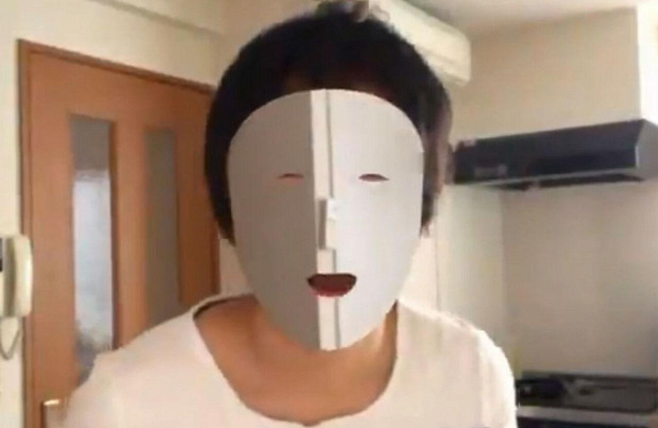 Японский программист научился делать прозрачное лицо при помощи iPhone X
