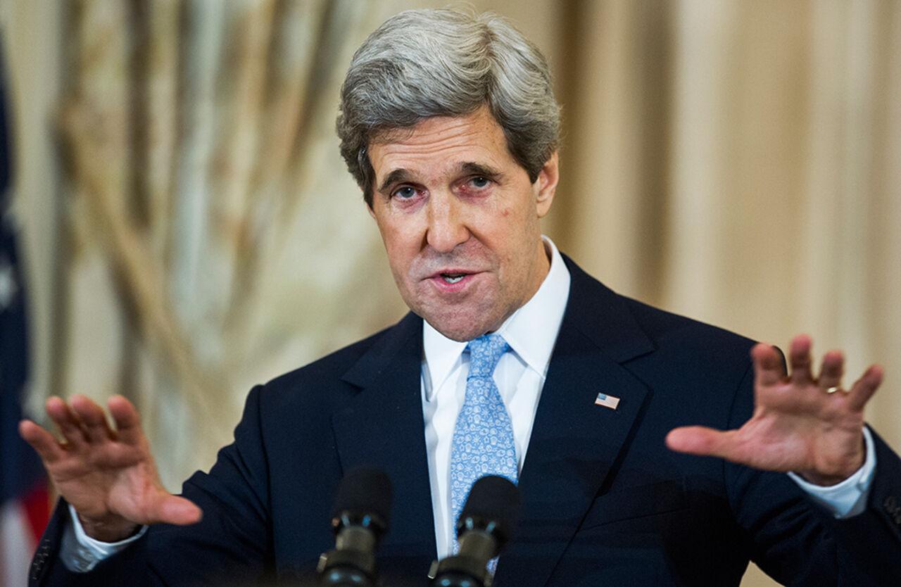 Керри будет искать в столице ответ наодин вопрос оСирии