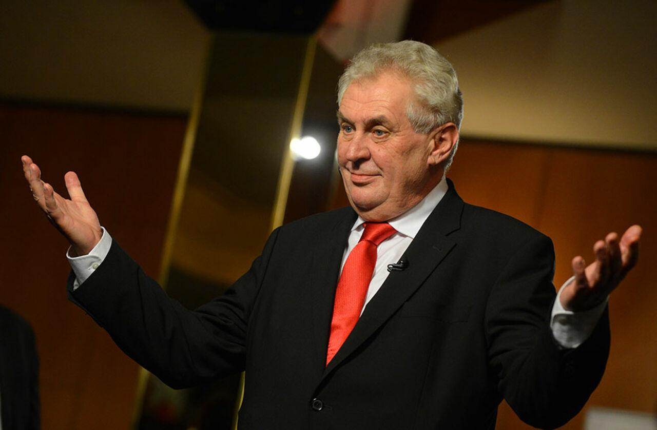 Президент Чехии пожелал соотечественникам «опасной жизни» вновом году