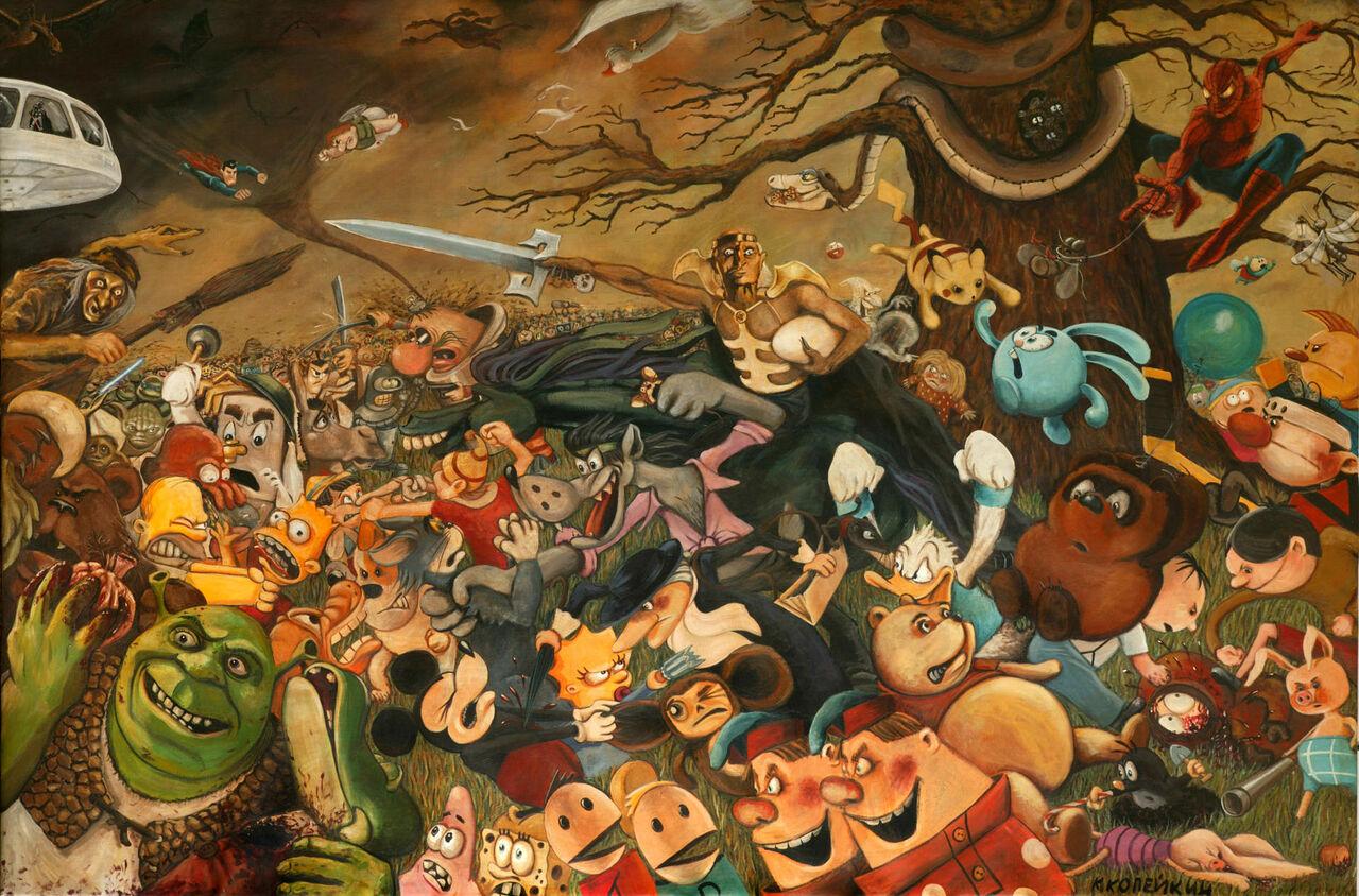 Названы самые известные мультфильмы уинтернет-пользователей