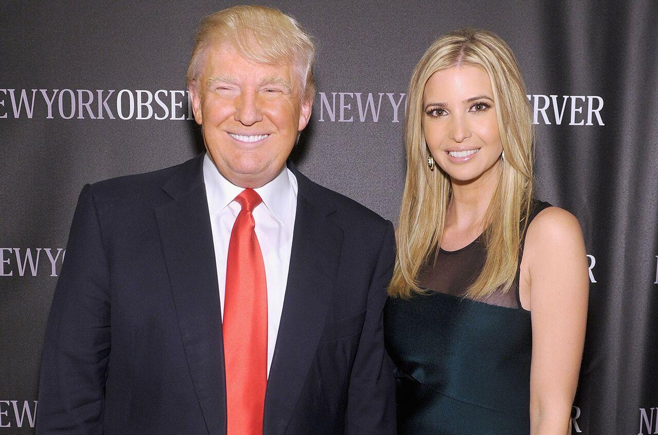 Ягоржусь моей дочерью Иванкой— Трамп