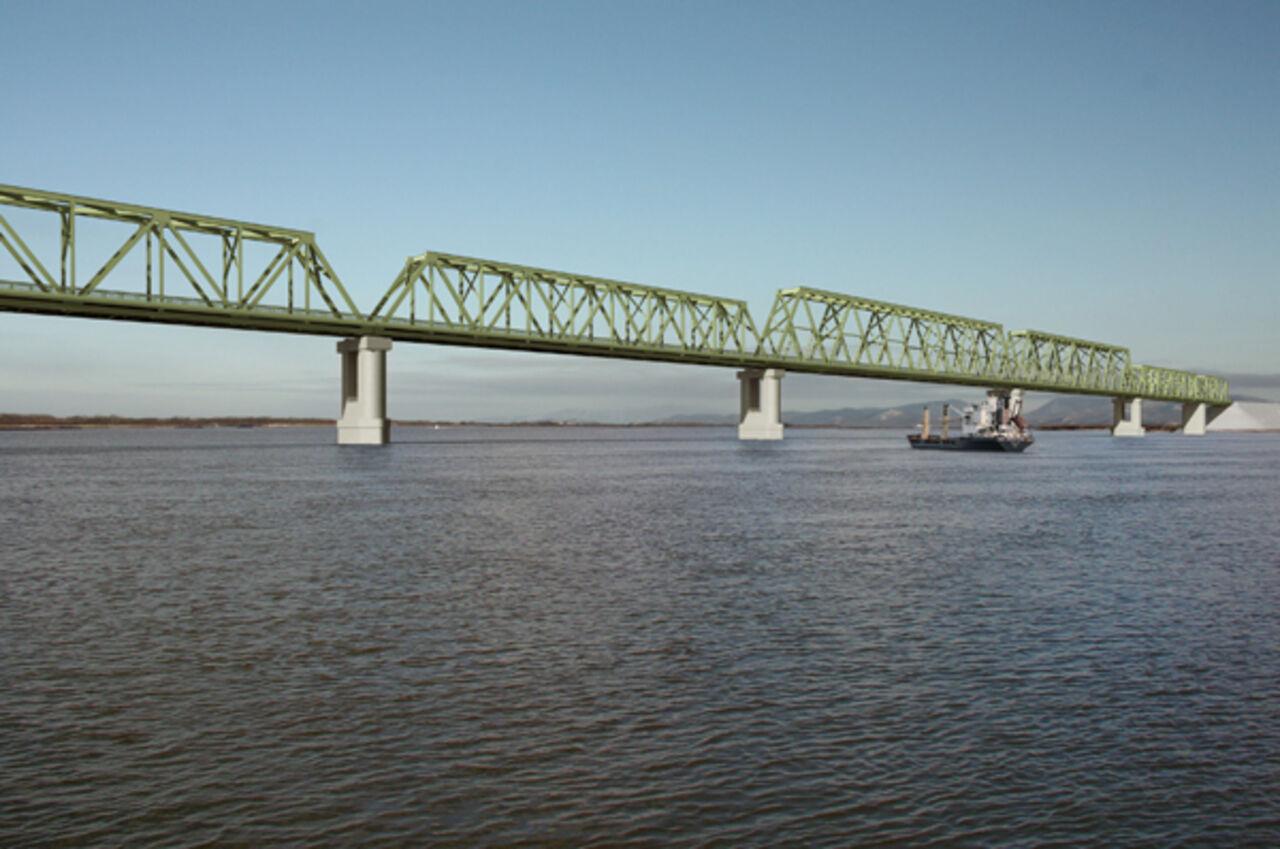 Мост через Амур появится к 2018г.