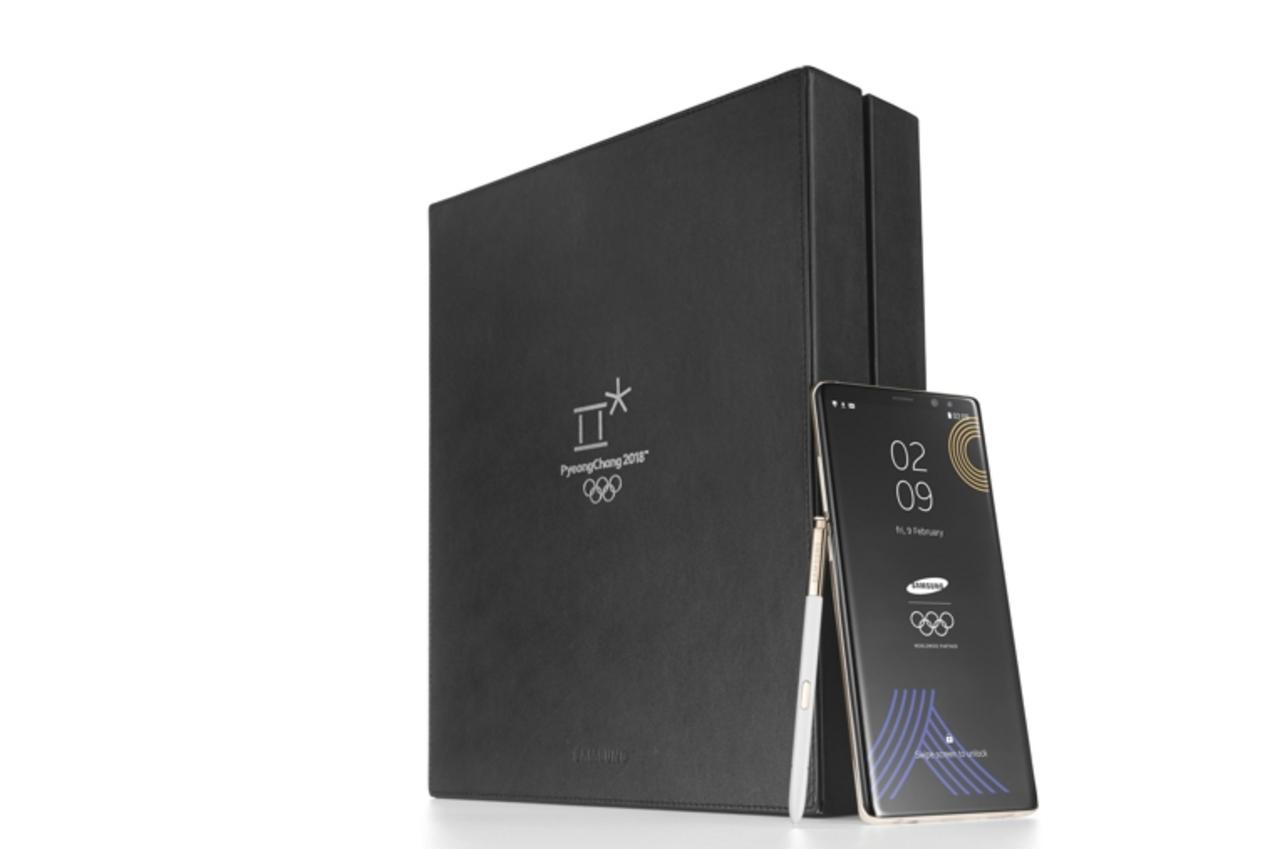 Самсунг выпустит эксклюзивный смартфон Galaxy Note 8 для участников ОИ-2018