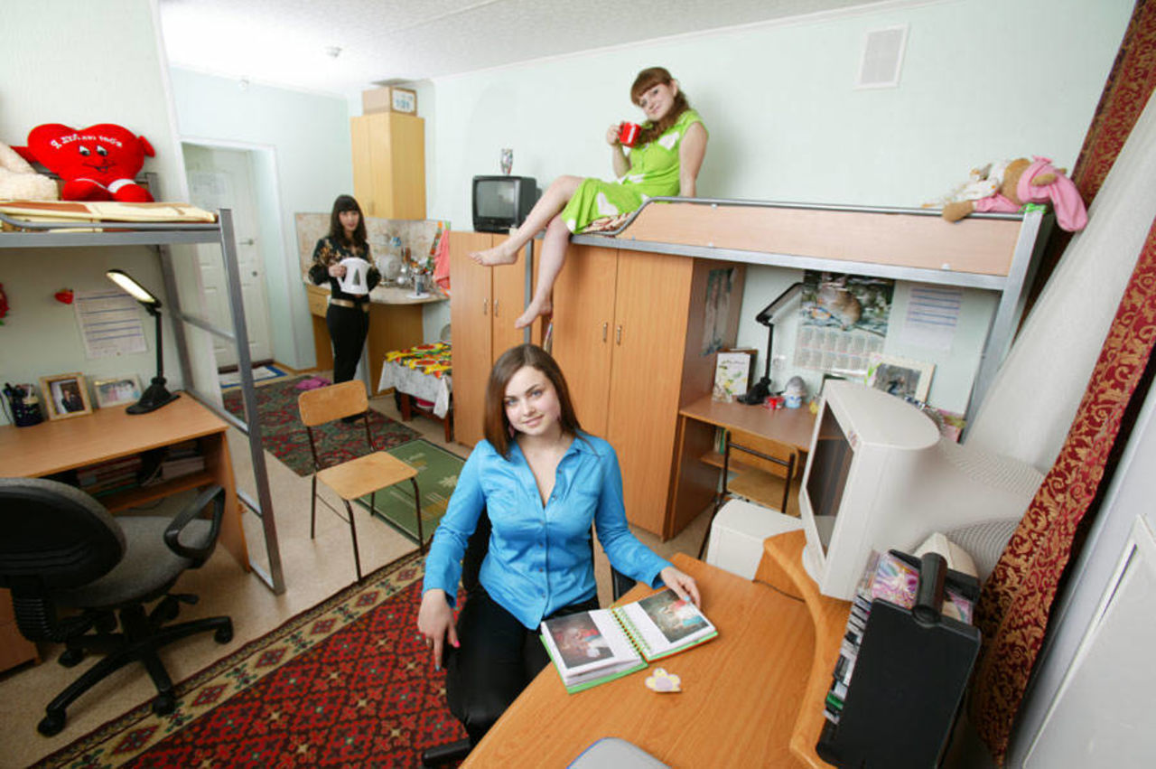 Фото в студенческой общаге 2 фотография