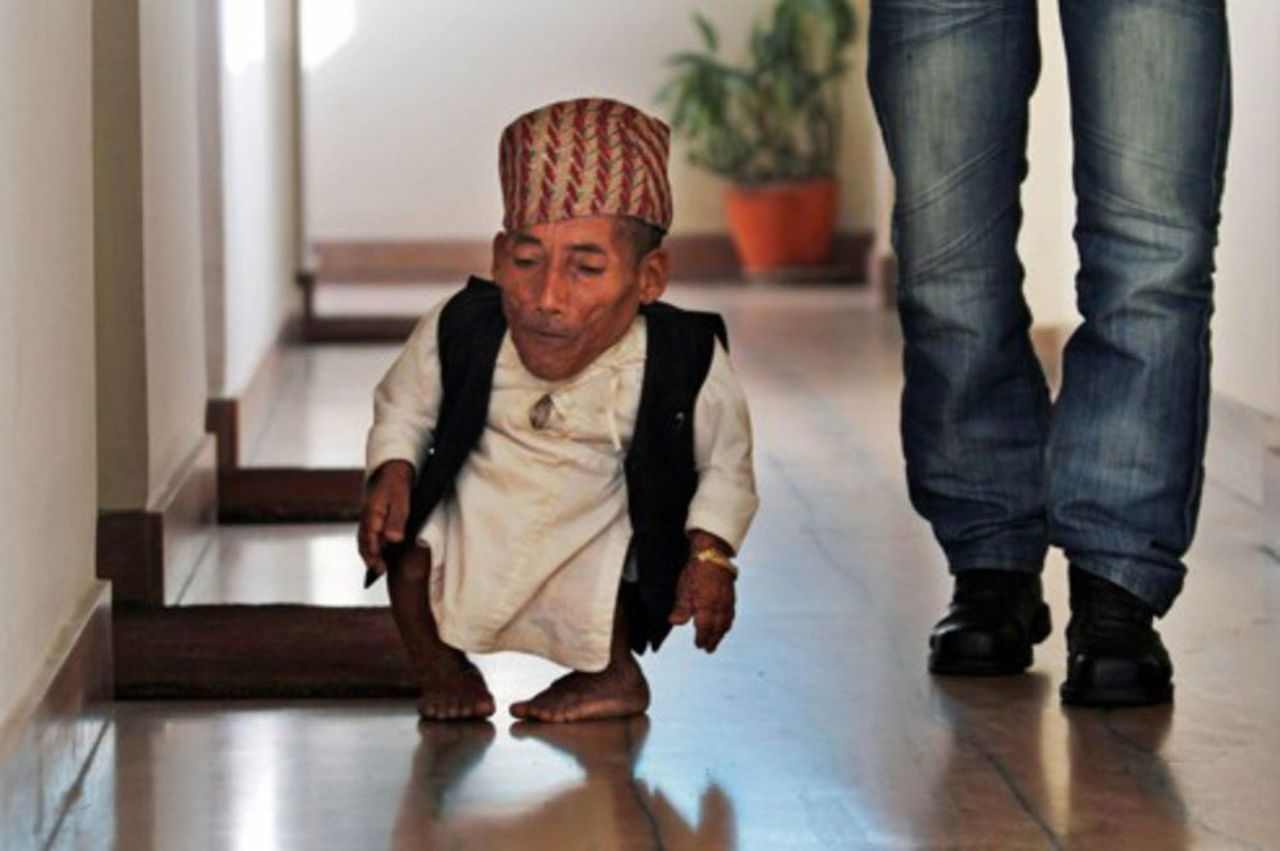 Фото самого короткого человека в мире 6