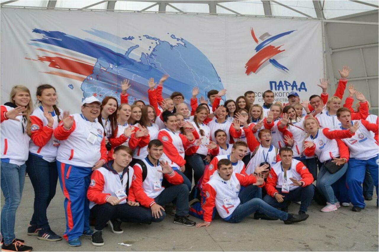 Семь тыс. первокурсников прошлись напараде студенчества вСтаврополе