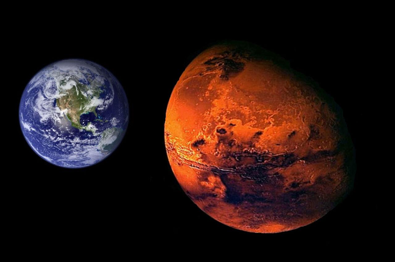 Ученые: вдальнейшем  Земля иМарс могут повстречаться