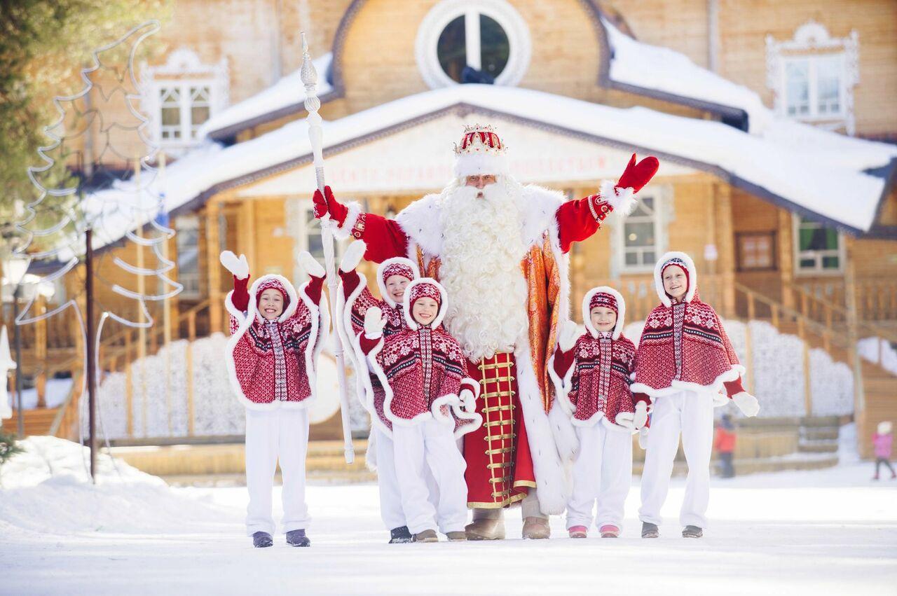 Дедушка Мороз отказался от русской пенсии
