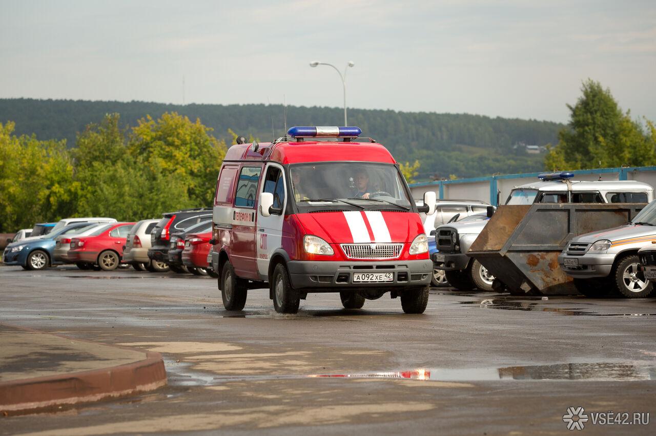 Вцентре Новокузнецка произошел пожар вквартире