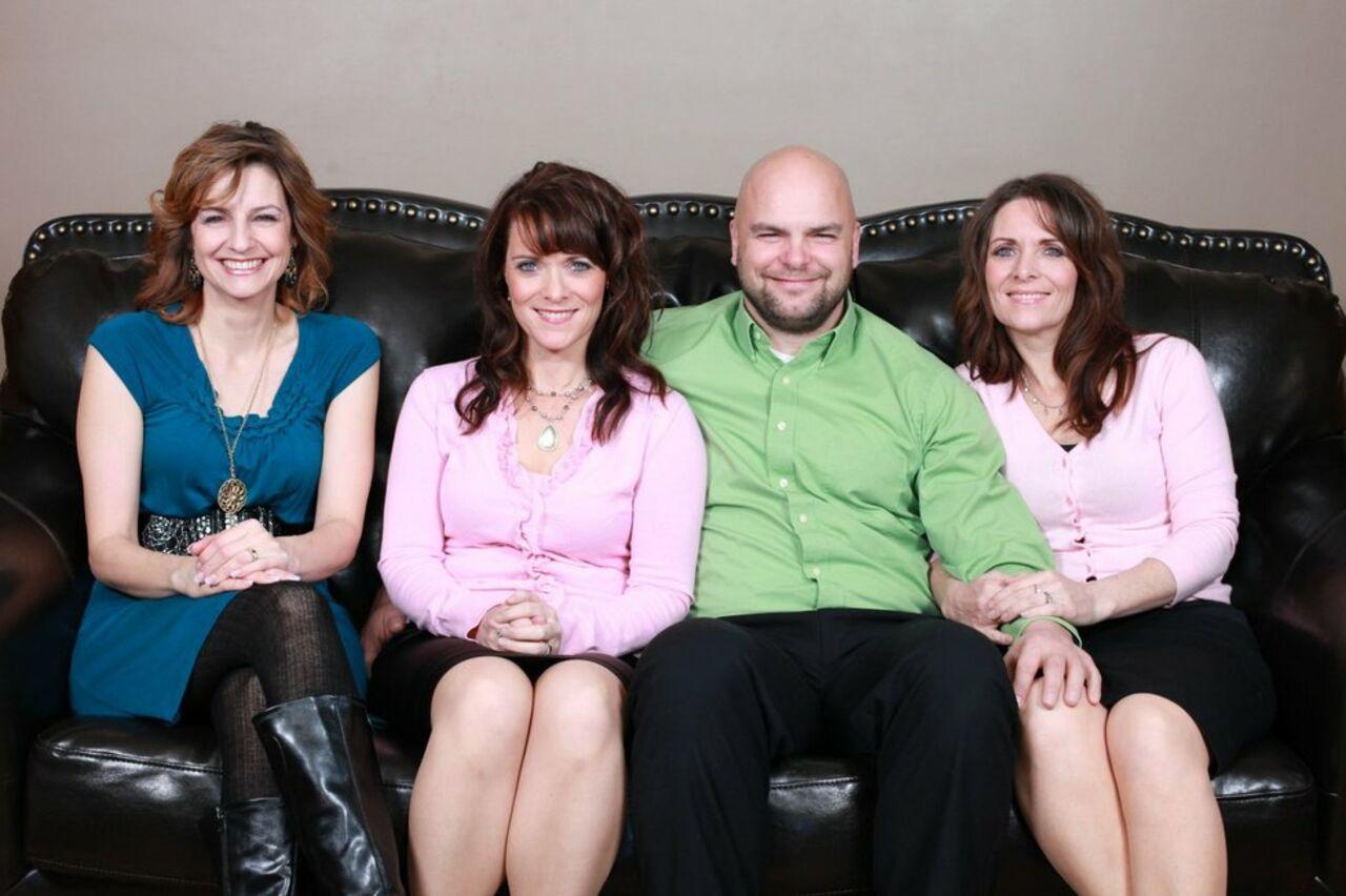 С сестрой и женой 3 фотография