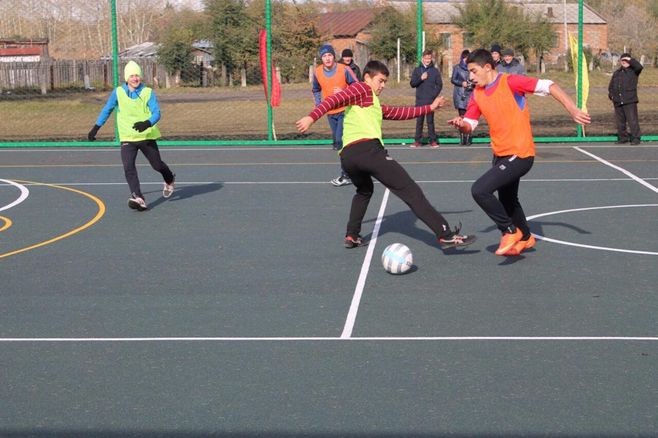 ВКузбассе открыли 5 новых спортивных площадок