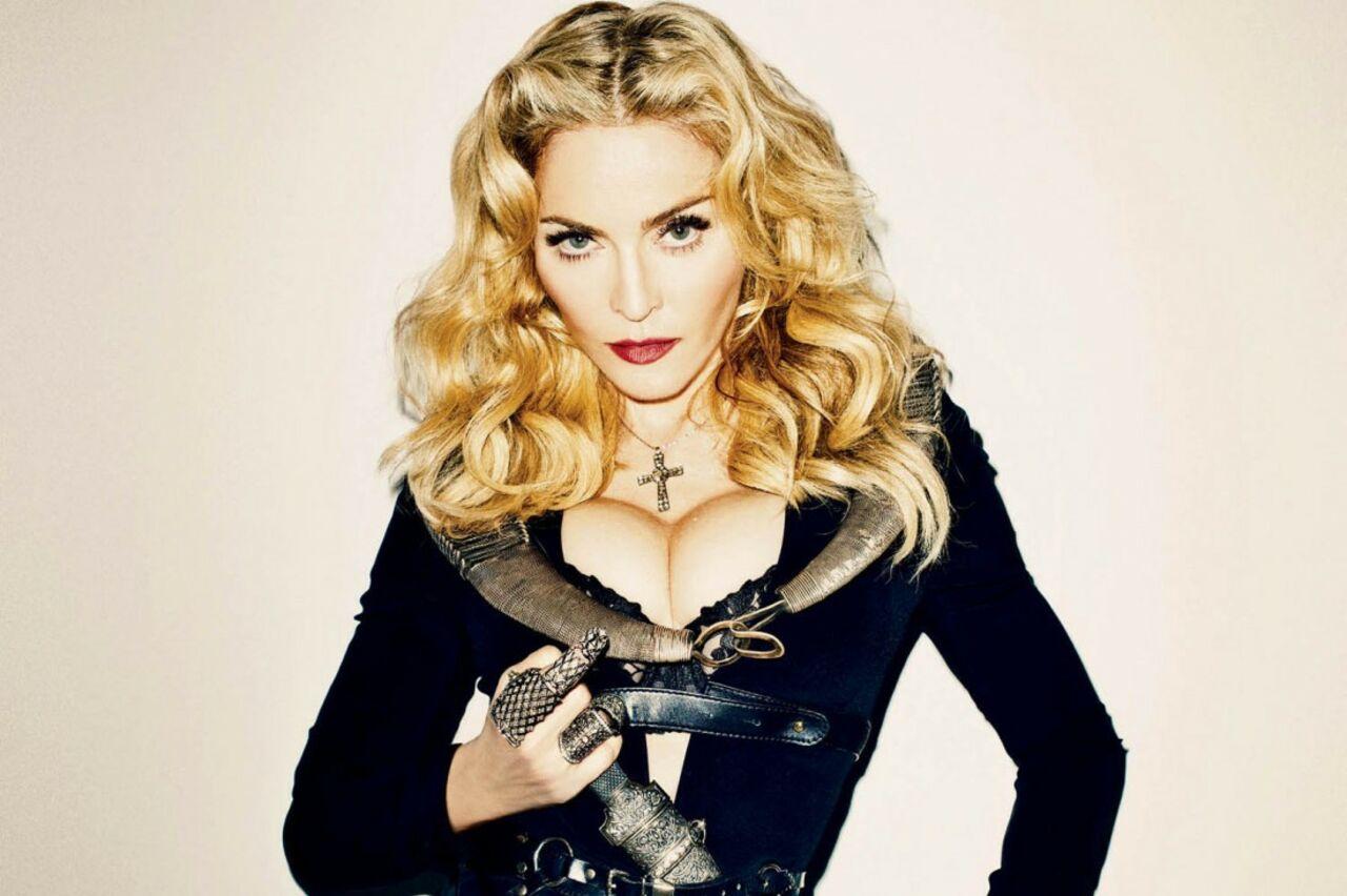Мадонна сообщила , что материлась вадрес Трампа «метафорически»