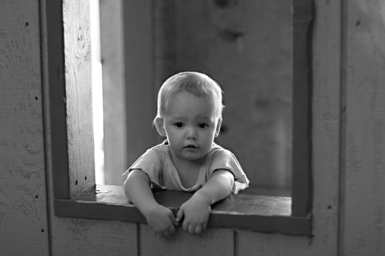 Самые грустные фото с детьми