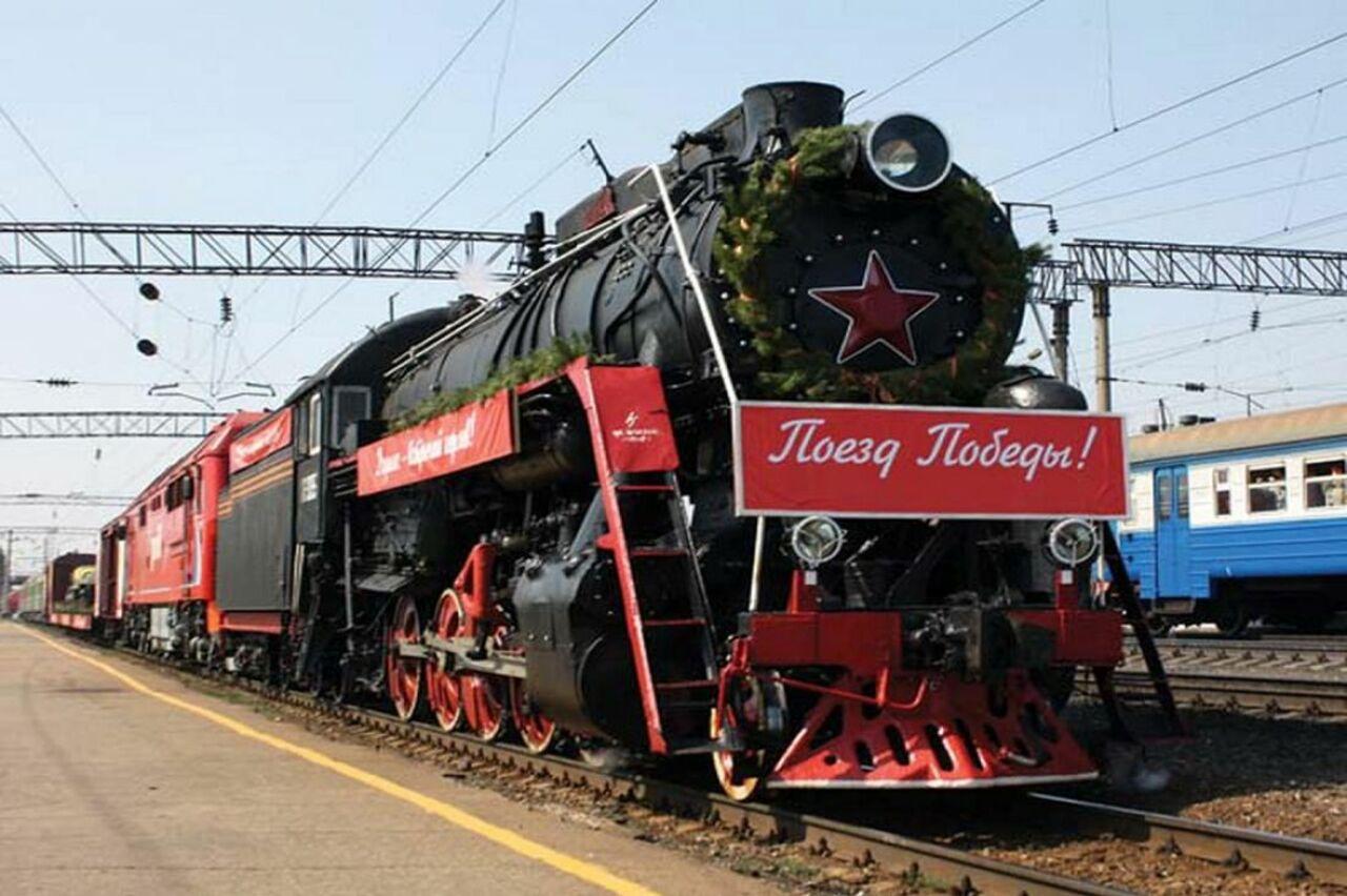 Агитпоезд-музей «Армия победы» сделал остановку вКузбассе
