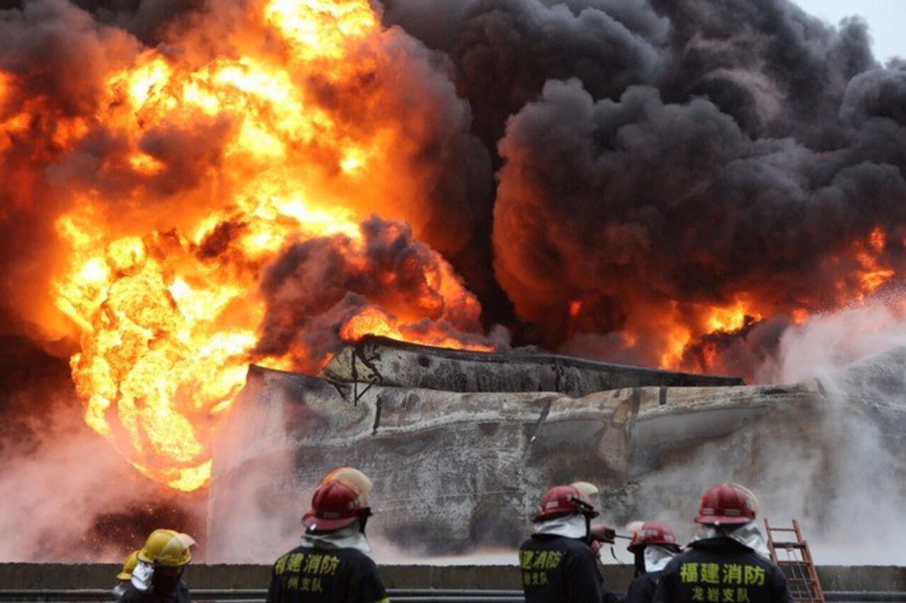 Из-за пожара в КНР  погибло шесть человек