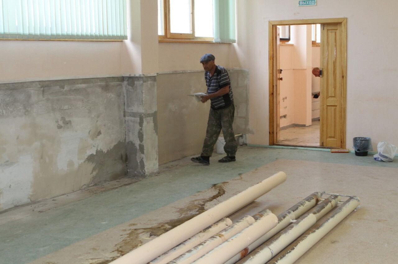 ВКемерово наремонт школ идетсадов выделили неменее 100 млн руб.