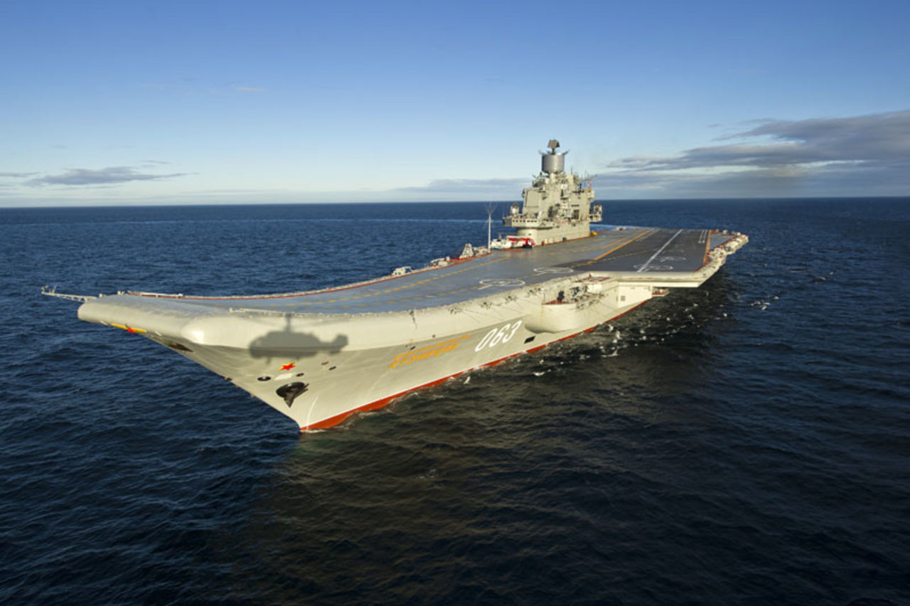 Авианосец «Адмирал Кузнецов» будет модернизирован