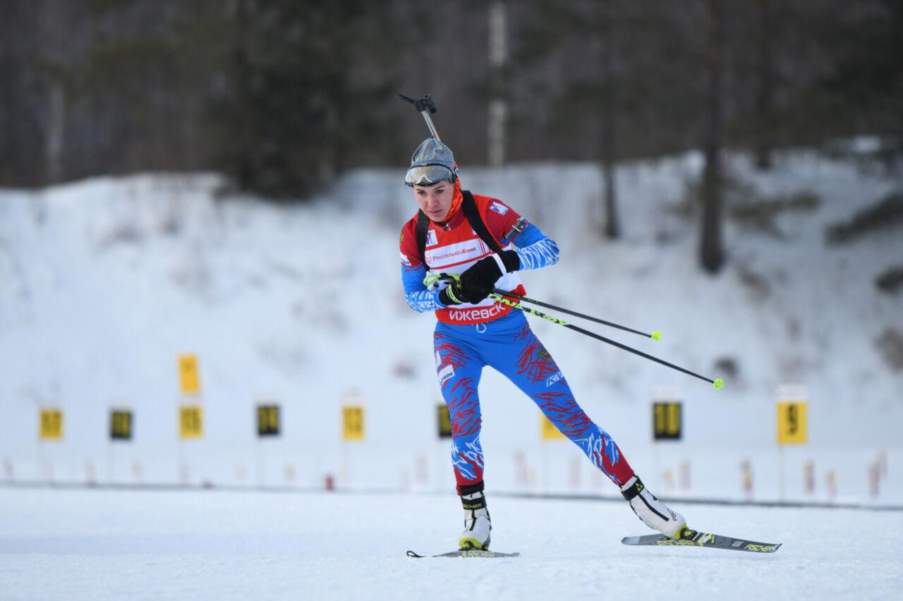 Биатлонистка Васильева получила дисквалификацию на18 месяцев