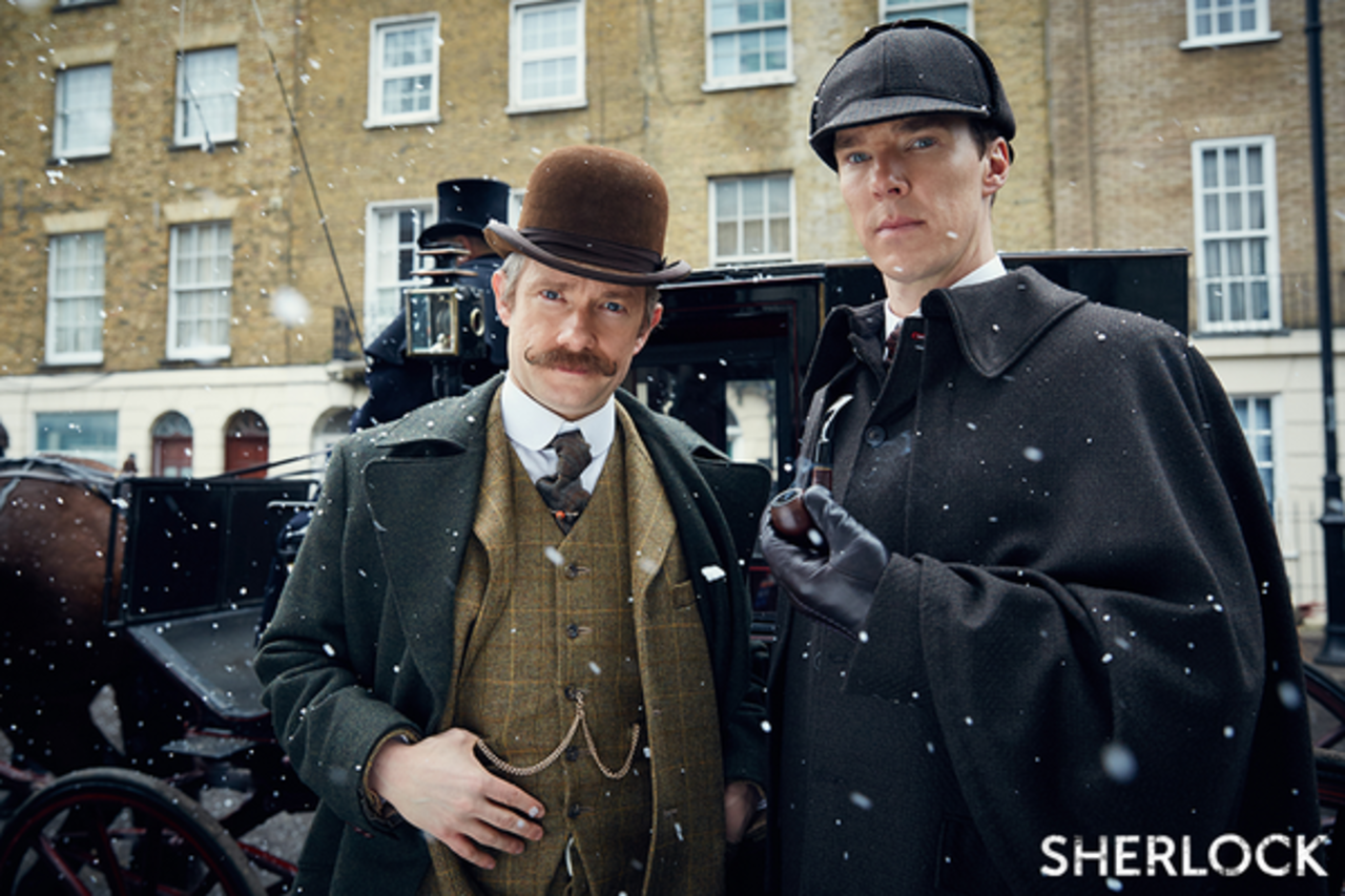 В сети появился трейлер новой серии сериала «Шерлок»
