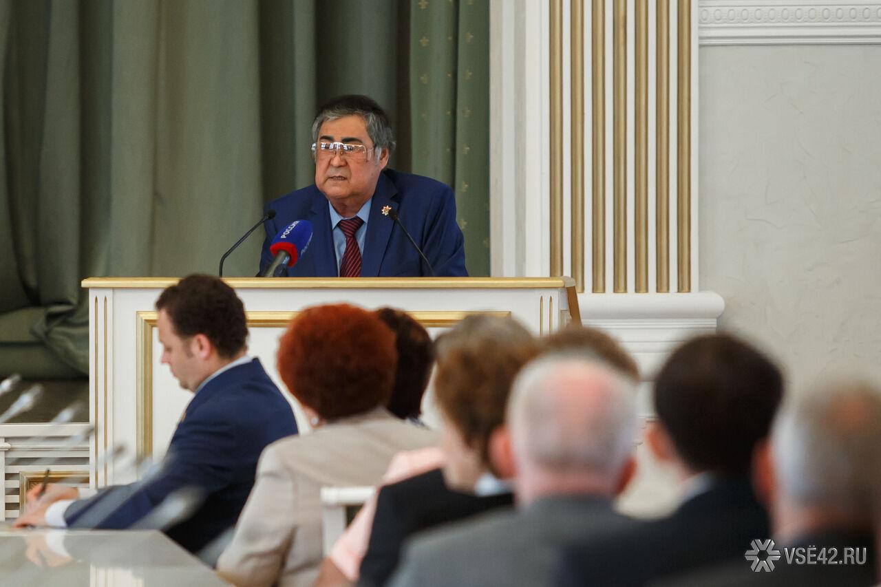 Аман Тулеев требует от кузбасских угольщиков усилить меры безопасности