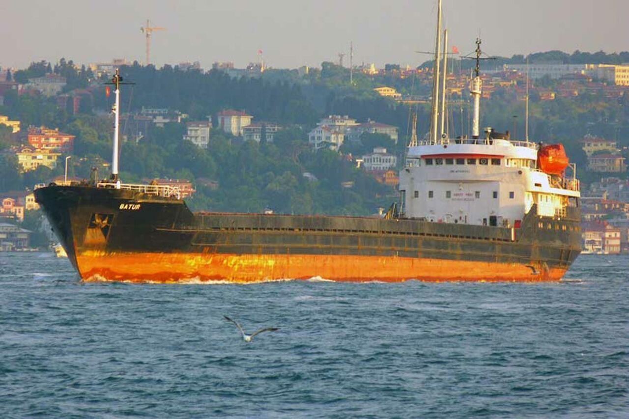 ВТаганроге арестовано турецкое судно