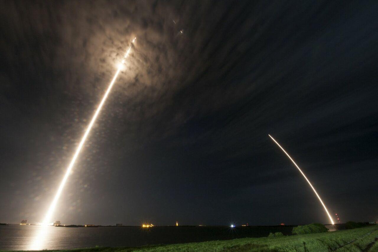 Грузовой корабль Dragon отправила SpaceX кМКС