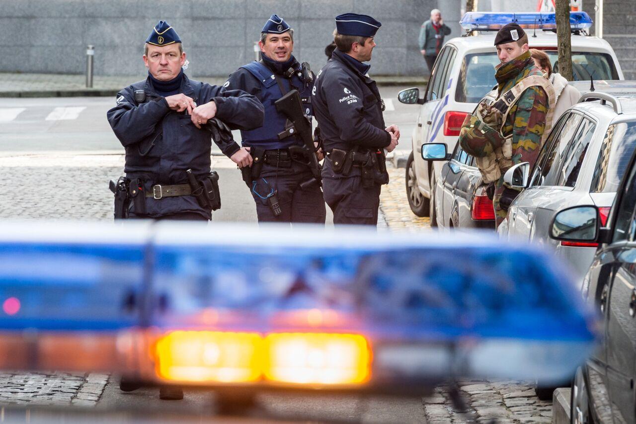 ВБрюсселе уинститута криминалистики произошел взрыв