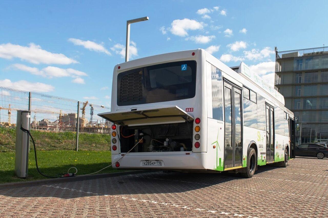 Электробусы «КАМАЗ» протестируют вгородах Российской Федерации