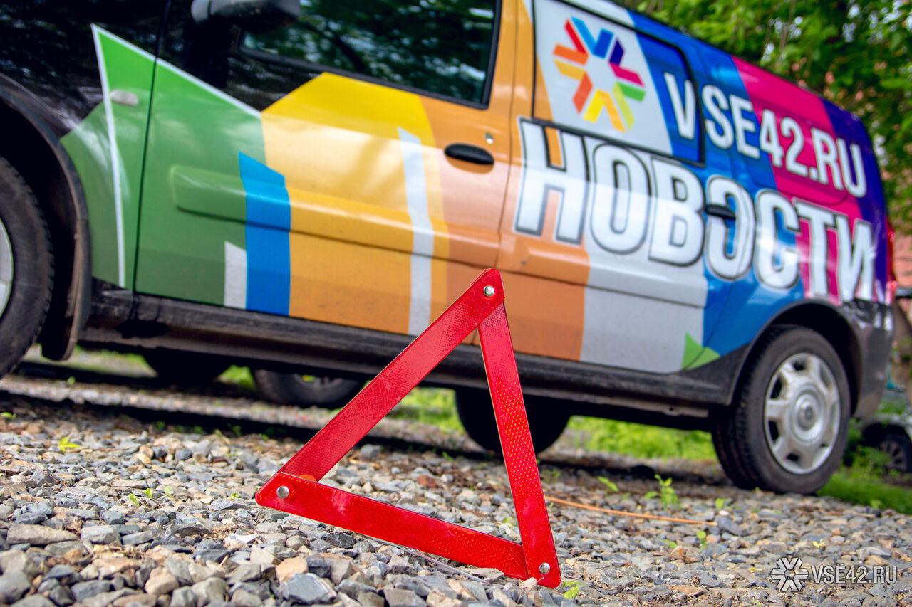 ВКузбассе вДТП пострадали трое, втом числе игодовалый сын