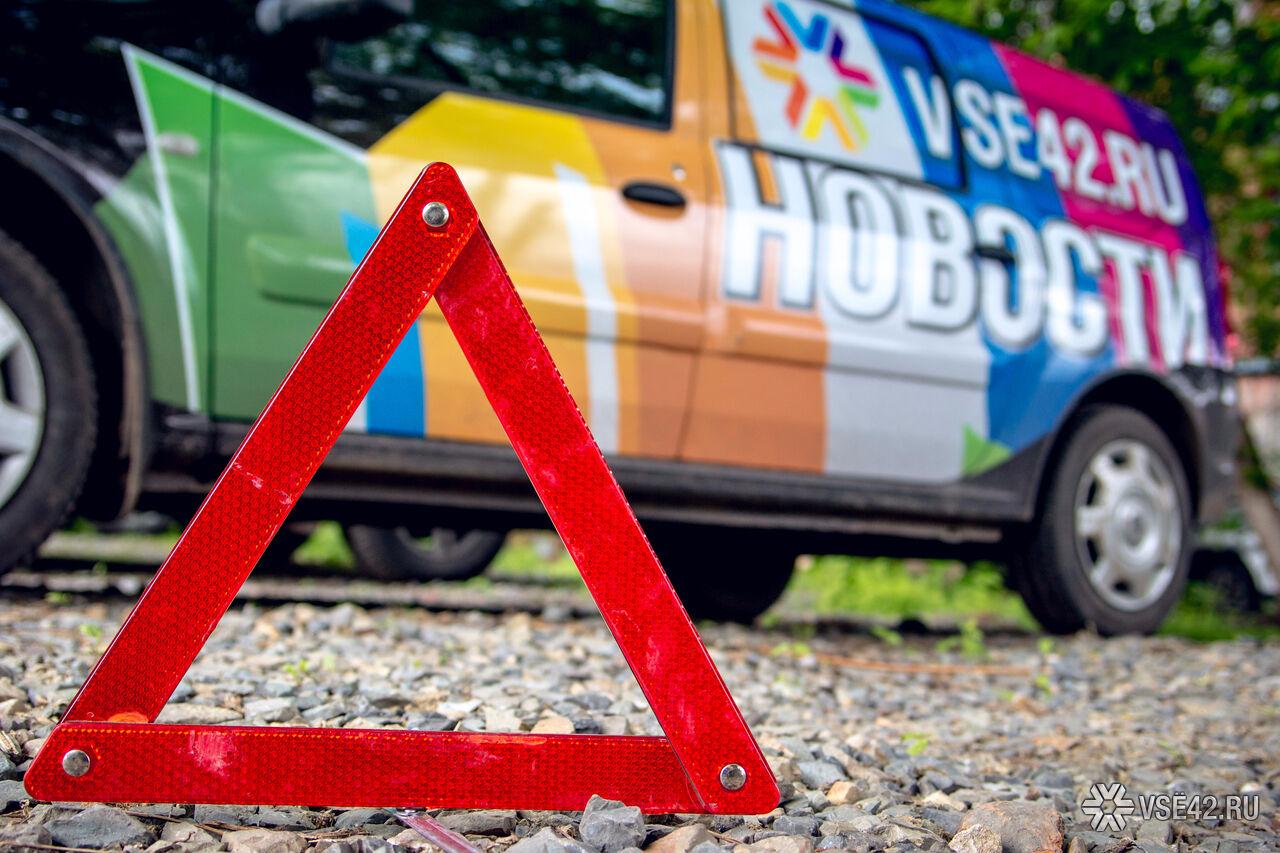 ВКемерове под колесами иномарки достаточно серьезно пострадала школьница