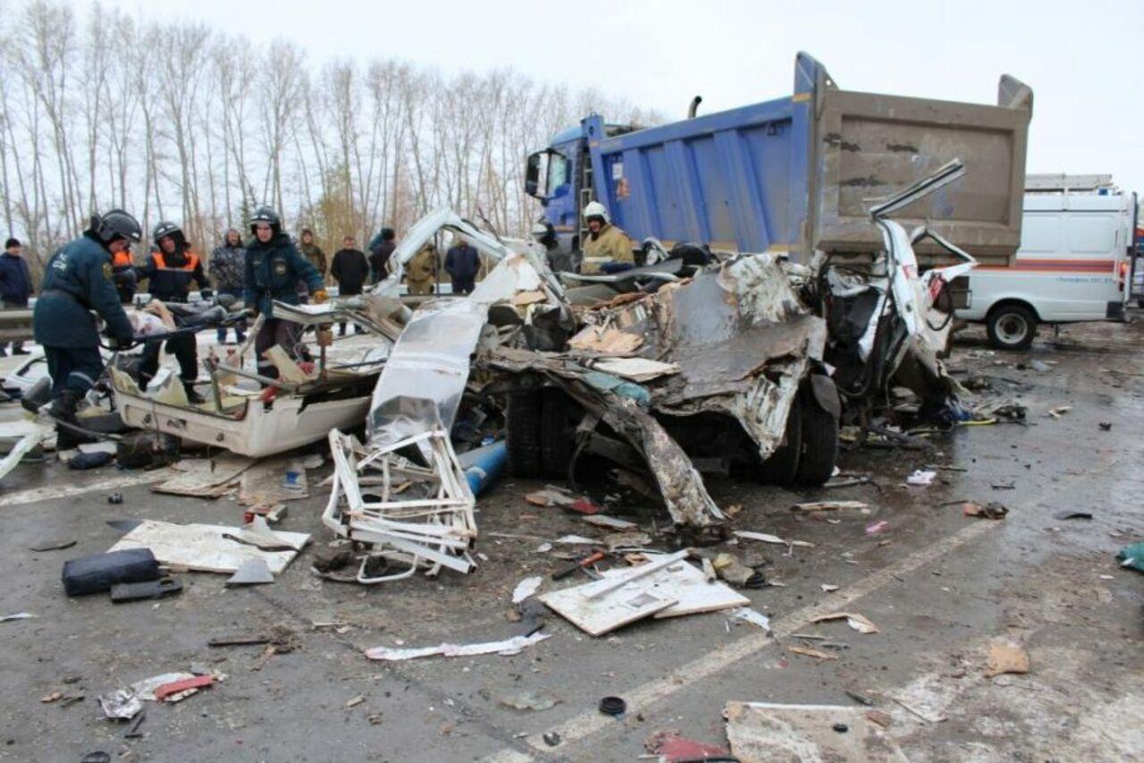 «Скорая помощь» разбилась вКоченевском районе— Смертельное ДТП