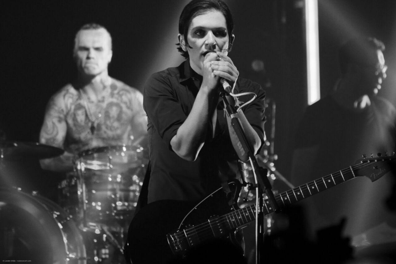 В столицеРФ концерт рок-группы Placebo был прерван изсоображений безопасности
