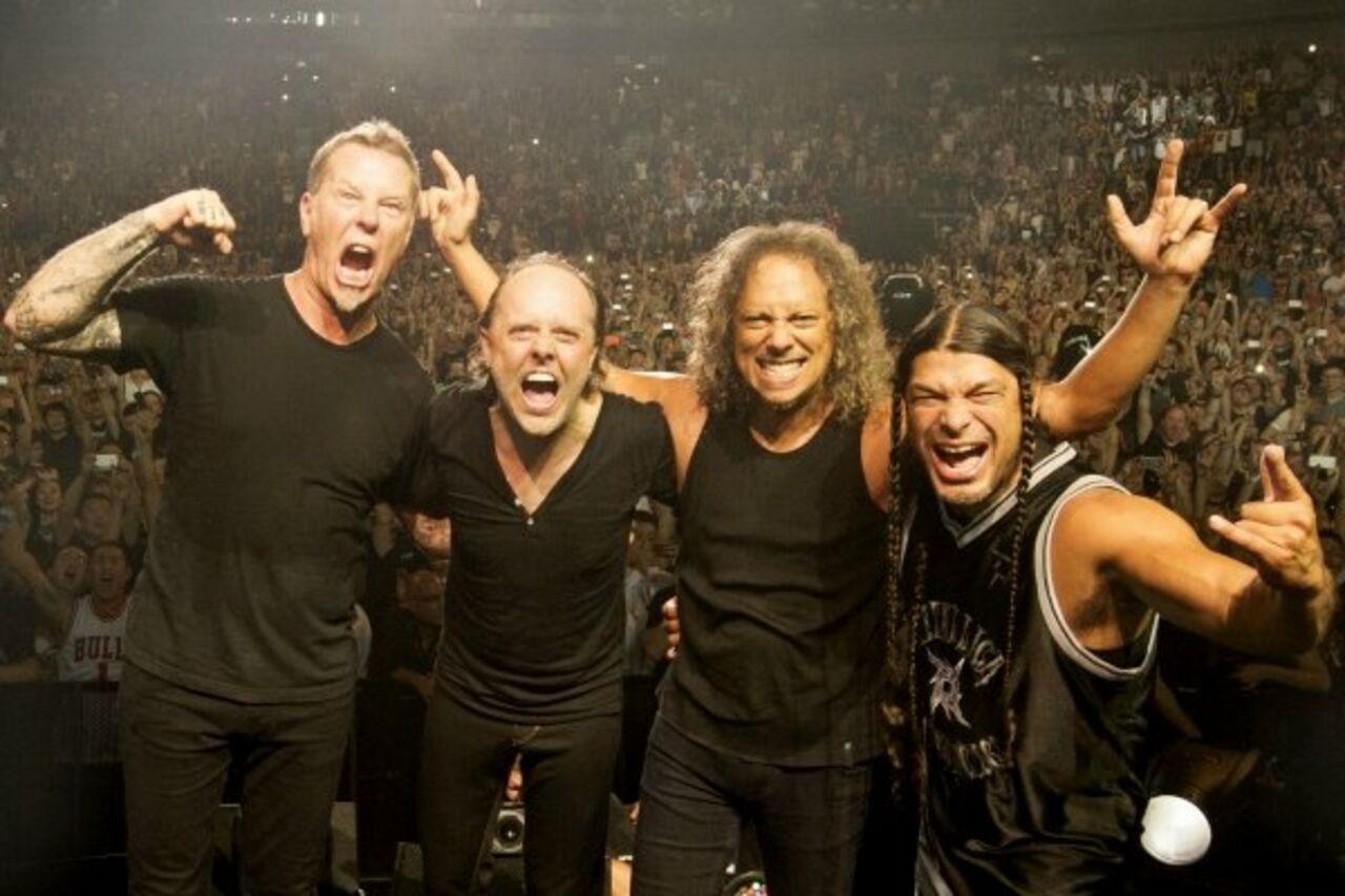 Metallica признана наиболее востребованной метал-группой вмире