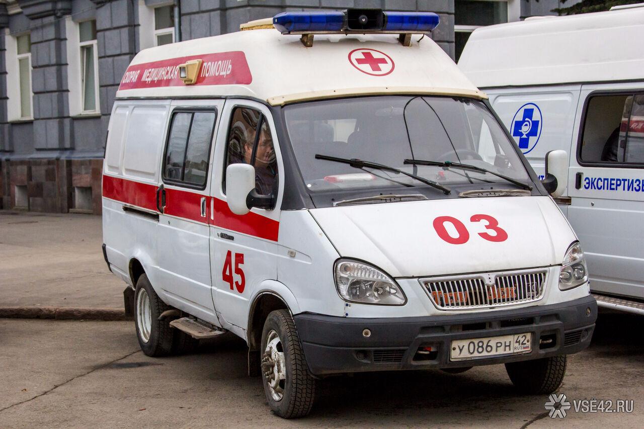 Новокузнечанин выпал с4 этажа и практически непострадал
