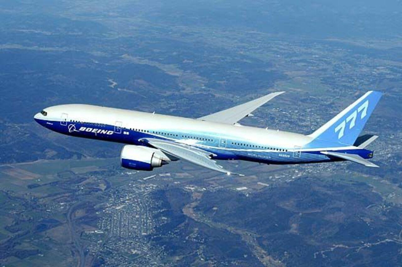 AFP: Boeing сократит производство лайнеров 777 с 7-ми до 5-ти вмесяц
