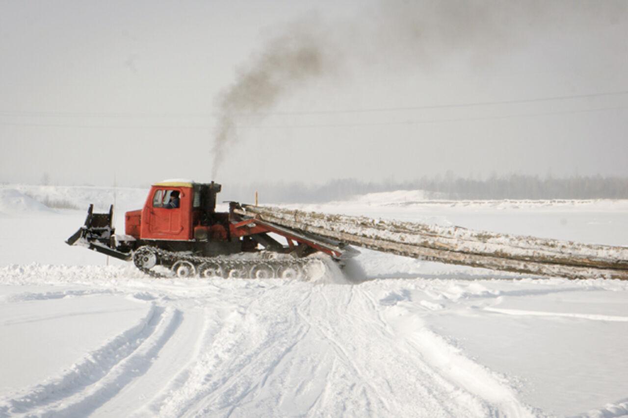 ВКузбассе возросло количество ледовых переправ