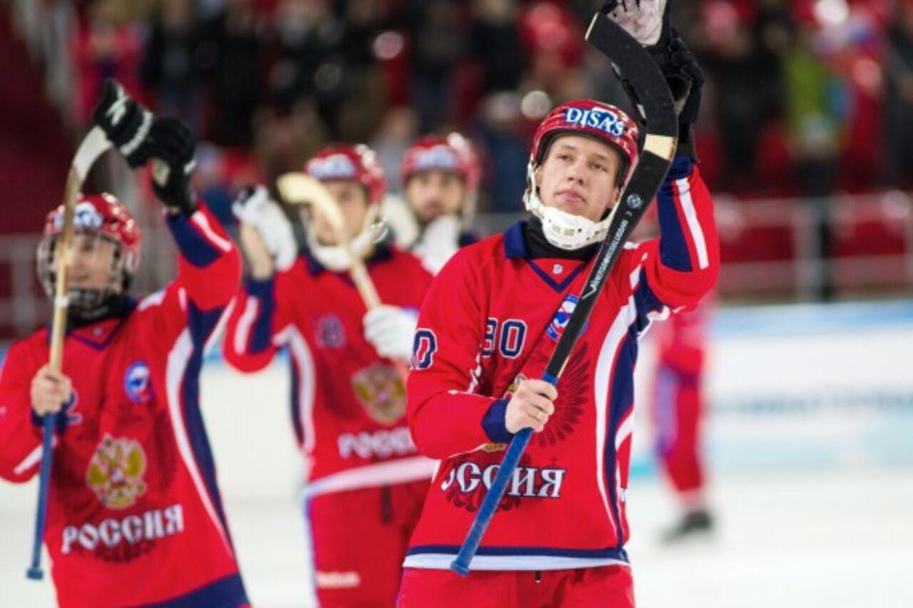 Юношеская сборная России стала чемпионом мира по хоккею с мячом