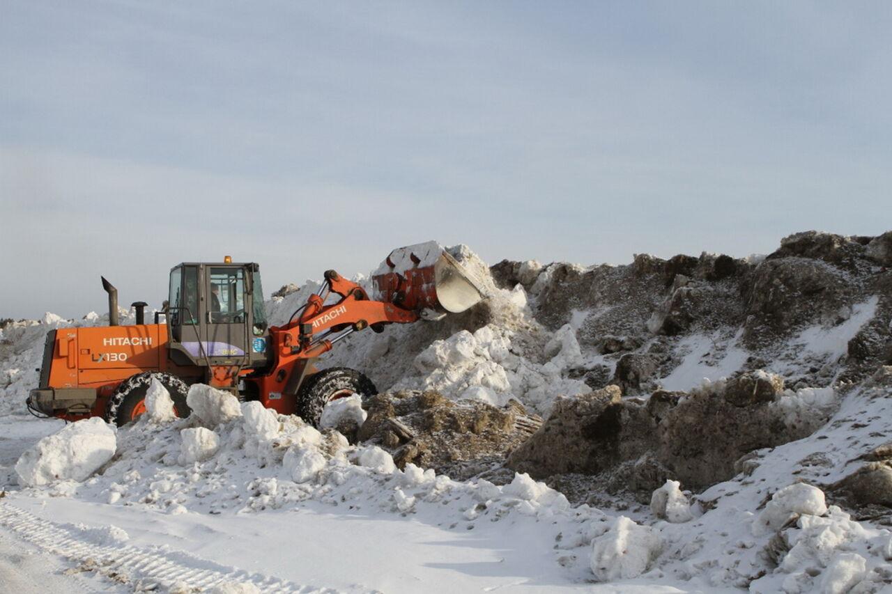 ВКемерове строят «китайскую стену» для защиты отпаводка
